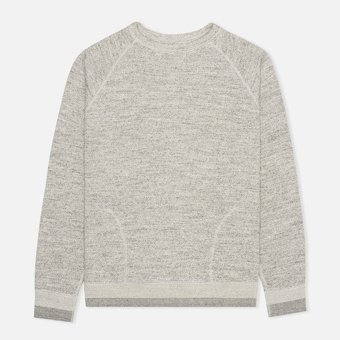 Мужская толстовка Nanamica French Terry Crew Neck Heather Gray