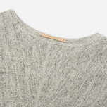 Мужская толстовка Nanamica French Terry Crew Neck Heather Gray фото- 4