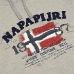 Мужская толстовка Napapijri Bayk Summer Light Grey фото- 2