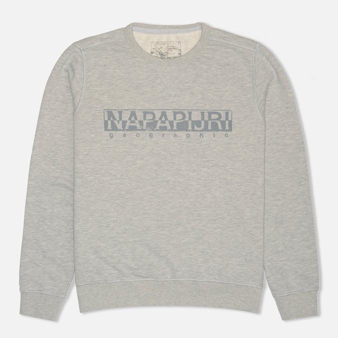 Мужская толстовка Napapijri Britain Summer Grey