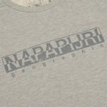Мужская толстовка Napapijri Britain Summer Grey фото- 2