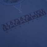 Napapijri Britain Men`s Sweatshirt Summer Planet photo- 2