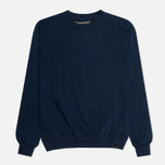 Мужская толстовка Nemen Vanistrong Cotton Crew Neck Navy фото- 0