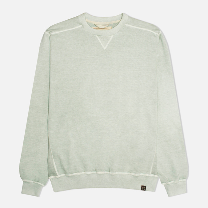 Nemen Vanistrong Cotton Crew Neck Men`s Sweatshirt Sage Green