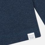 Norse Projects Thorbjorn Rib Jersey Men`s Sweatshirt Blue Melange photo- 3