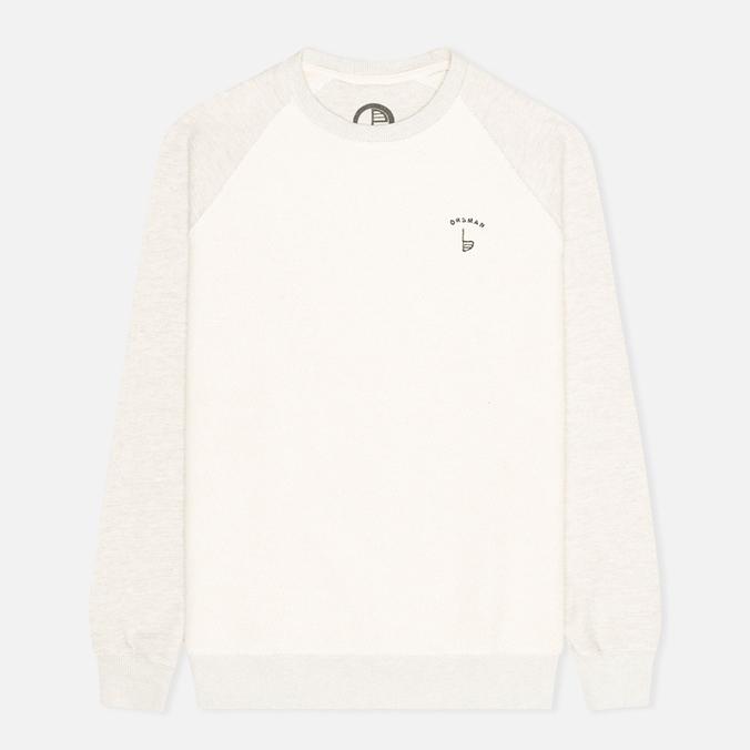 Orsman EMB Reverse Men`s Sweatshirt Grey/Ecru