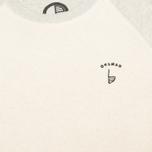 Мужская толстовка Orsman EMB Reverse Grey/Ecru фото- 2