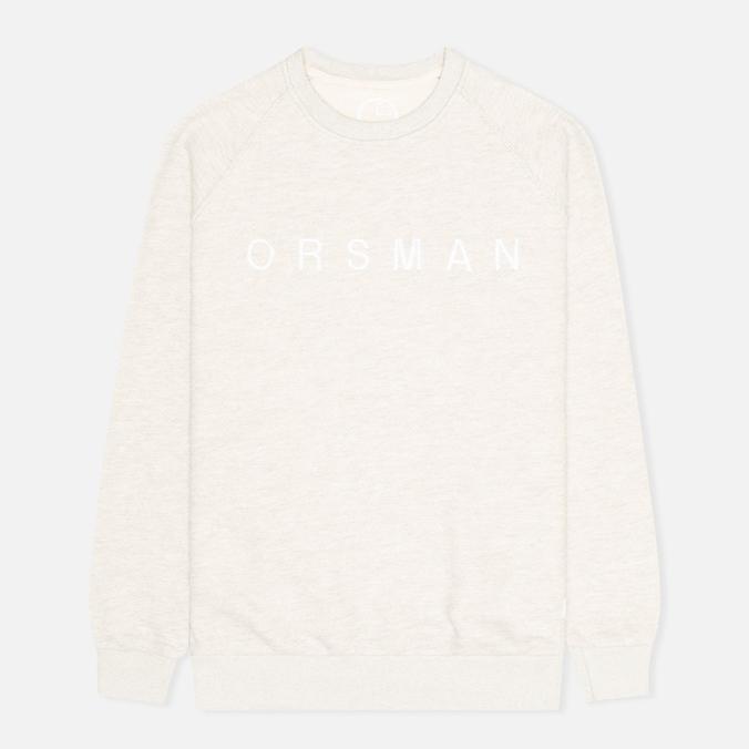 Мужская толстовка Orsman Quarter Crew Grey