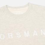Мужская толстовка Orsman Quarter Crew Grey фото- 1