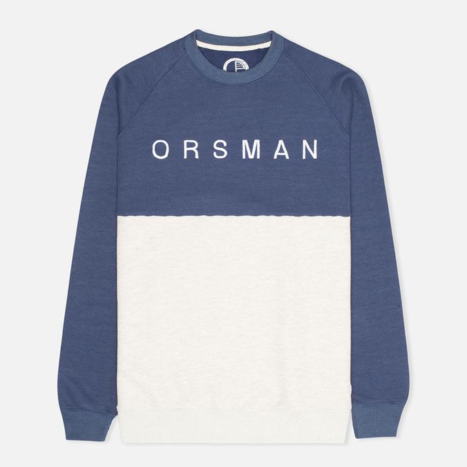 Мужская толстовка Orsman Quarter Crew Midnight
