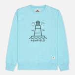 Мужская толстовка Penfield Hemmings Sea Blue Melange фото- 0