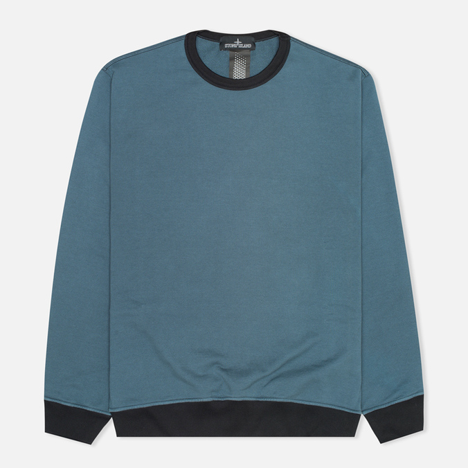 Мужская толстовка Stone Island Shadow Project Classic Crew Neck Felpa Co Marine