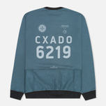 Stone Island Shadow Project Classic Crew Neck Felpa Co Men`s Sweatshirt Marine photo- 2