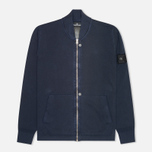 Мужская толстовка Stone Island Shadow Project Track Co Pigment Dye Navy фото- 0