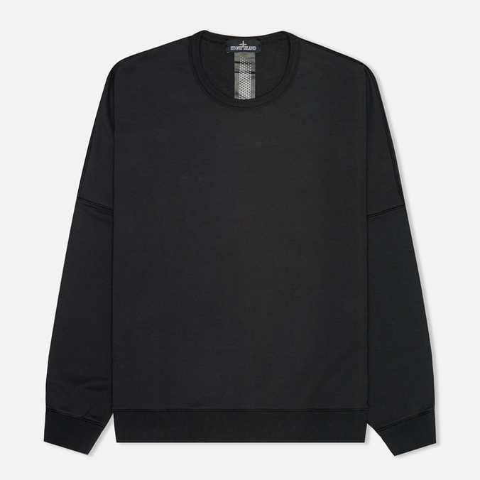 Stone Island Shadow Project Wide Men`s Sweatshirt Black