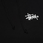 Stussy Basic Logo Graphic Print Men`s Hoody Black photo- 2