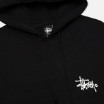 Stussy Basic Logo Graphic Print Men`s Hoody Black photo- 1