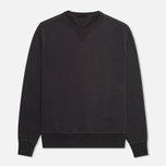 Мужская толстовка Ten C Heavy Jersey Crew Neck Black фото- 0