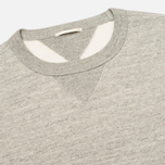 Мужская толстовка Ten C Heavy Jersey Crew Neck Grey Melange фото- 1