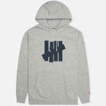 Undefeated 5 Strike Men`s Hoody Grey Heather photo- 0