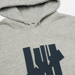 Undefeated 5 Strike Men`s Hoody Grey Heather photo- 1