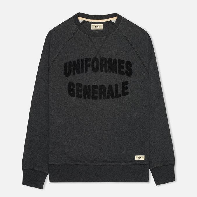 Мужская толстовка Uniformes Generale Chenille Black Melange