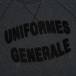 Мужская толстовка Uniformes Generale Chenille Black Melange фото- 2