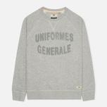 Мужская толстовка Uniformes Generale Chenille Grey Melange фото- 0
