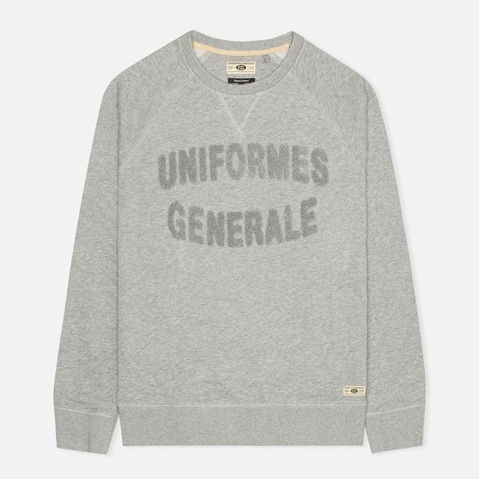 Мужская толстовка Uniformes Generale Chenille Grey Melange