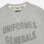 Мужская толстовка Uniformes Generale Chenille Grey Melange фото- 1