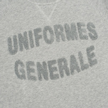 Мужская толстовка Uniformes Generale Chenille Grey Melange фото- 2