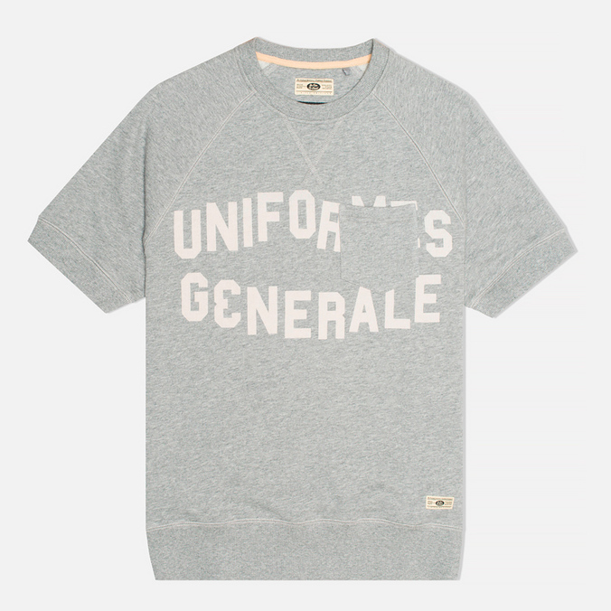 Мужская толстовка Uniformes Generale College Reglan Crew Neck Tea Grey Melange