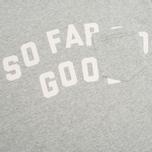Uniformes Generale SFSG Pocket Crew Neck Men`s Sweatshirt Tea Grey Melange/White photo- 2