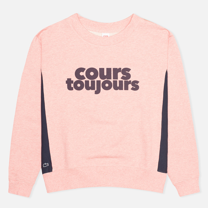Женская толстовка Lacoste Live Avec Cours Toujours Coraux Chine/Marine