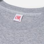 Женская толстовка Lacoste Live Crewneck Grey фото- 1