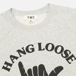 Женская толстовка YMC Hang Loose NYC Grey фото- 1