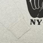 Женская толстовка YMC Hang Loose NYC Grey фото- 3