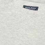 Мужская толстовка Woolrich Flanders Crew Neck Light Grey фото- 2