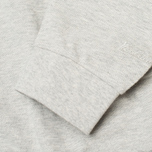 Мужская толстовка Woolrich Flanders Crew Neck Light Grey фото- 3