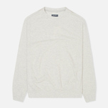 Мужская толстовка Woolrich Flanders Crew Neck Light Grey фото- 0
