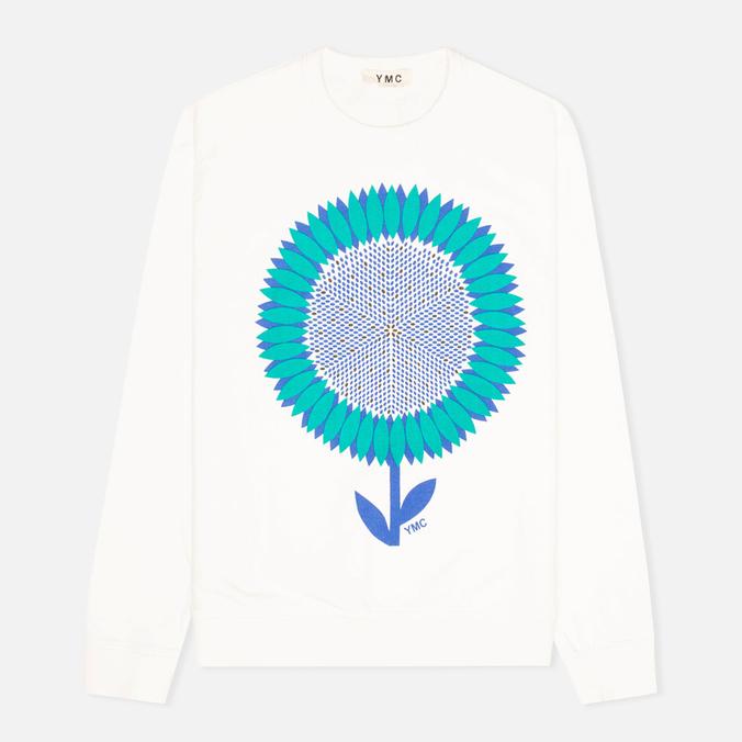 Мужская толстовка YMC Flower Print White