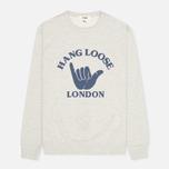 Мужская толстовка YMC Hang Loose London Grey фото- 0