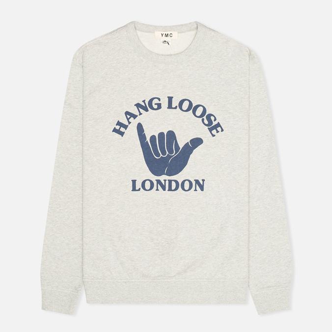Мужская толстовка YMC Hang Loose London Grey
