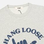 Мужская толстовка YMC Hang Loose London Grey фото- 1