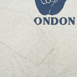 Мужская толстовка YMC Hang Loose London Grey фото- 3
