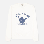 YMC Hang Loose London Men`s Sweatshirt White photo- 0