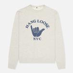 Мужская толстовка YMC Hang Loose NYC Grey фото- 0