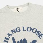 Мужская толстовка YMC Hang Loose NYC Grey фото- 1