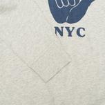 Мужская толстовка YMC Hang Loose NYC Grey фото- 3