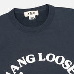 Мужская толстовка YMC Hang Loose NYC Navy фото- 1